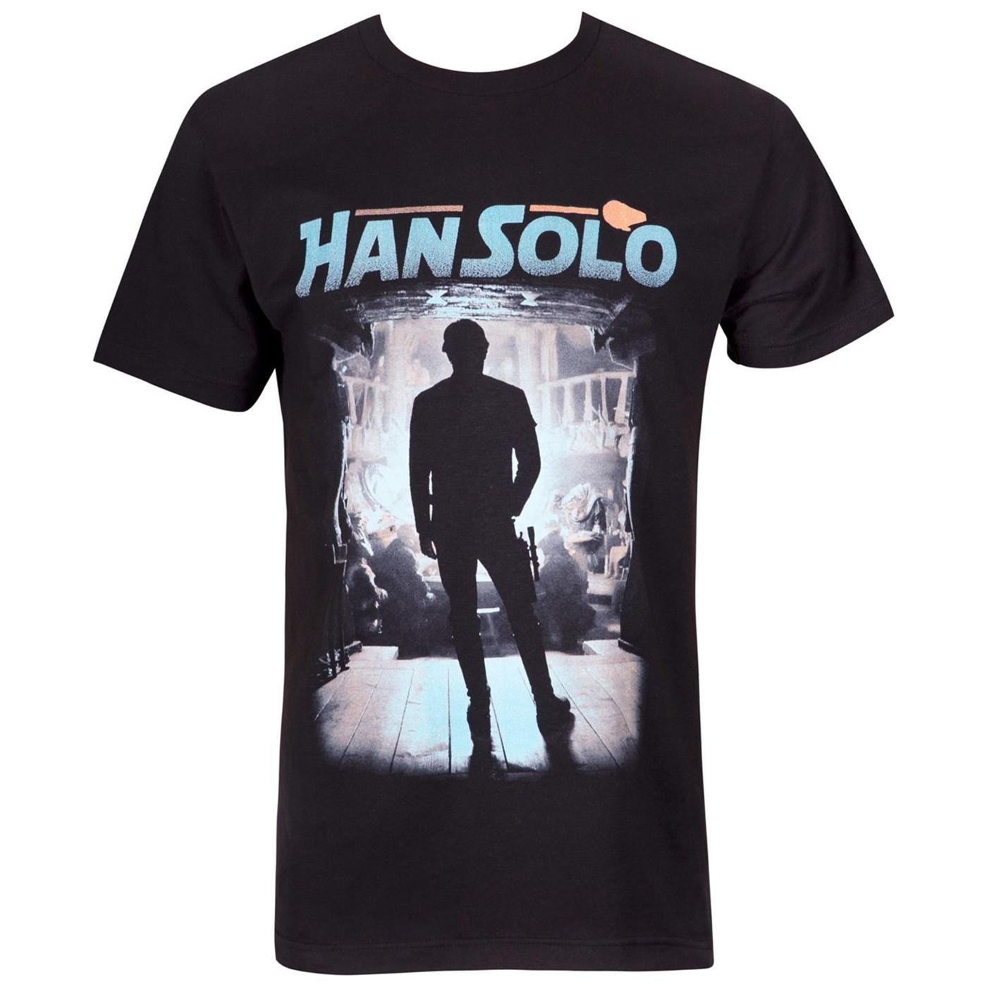 Han Solo Gamblers Den's Men's T-Shirt