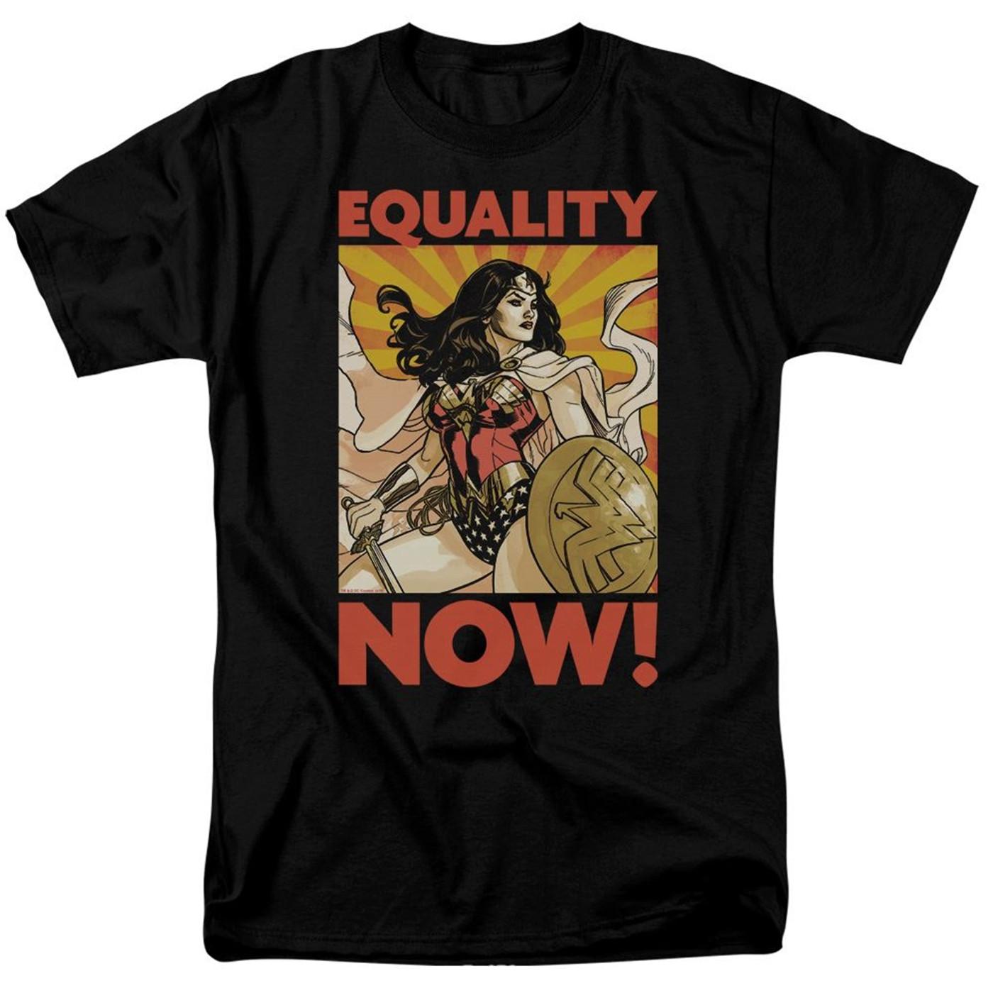 Wonder Woman Equality Now Men's T-Shirt