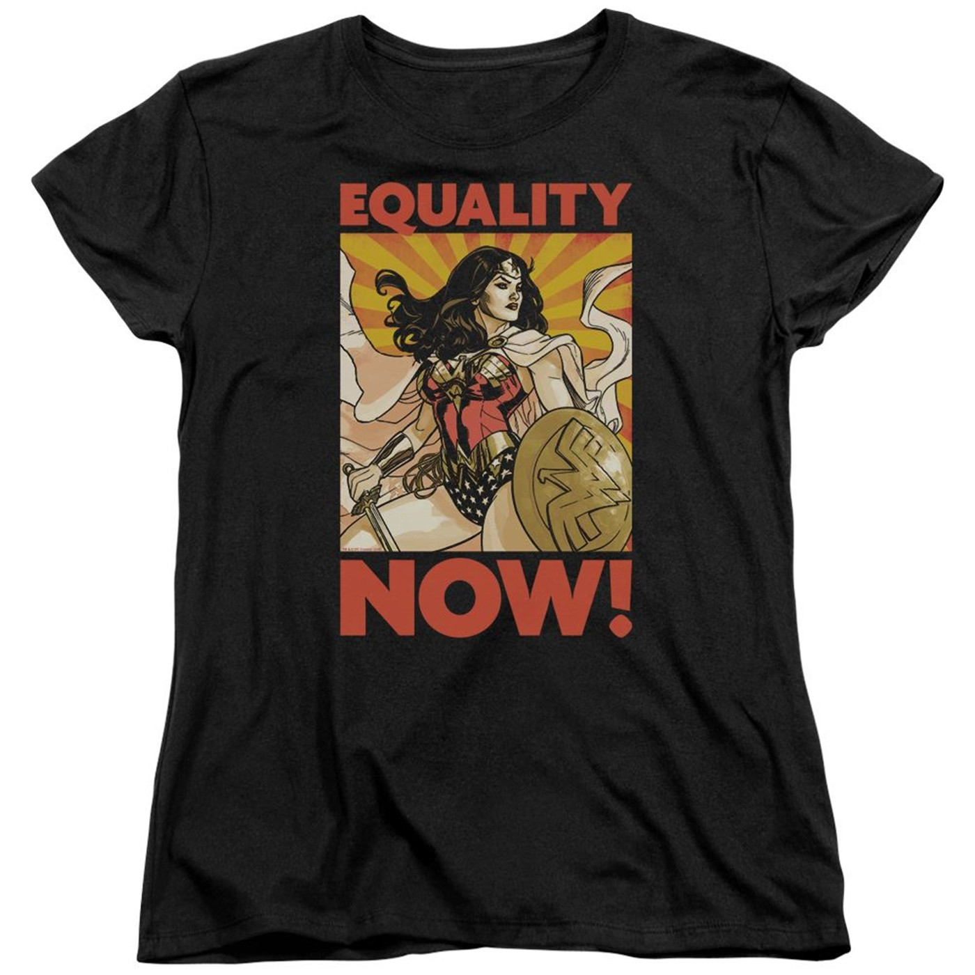 Wonder Woman Equality Now Women's T-Shirt
