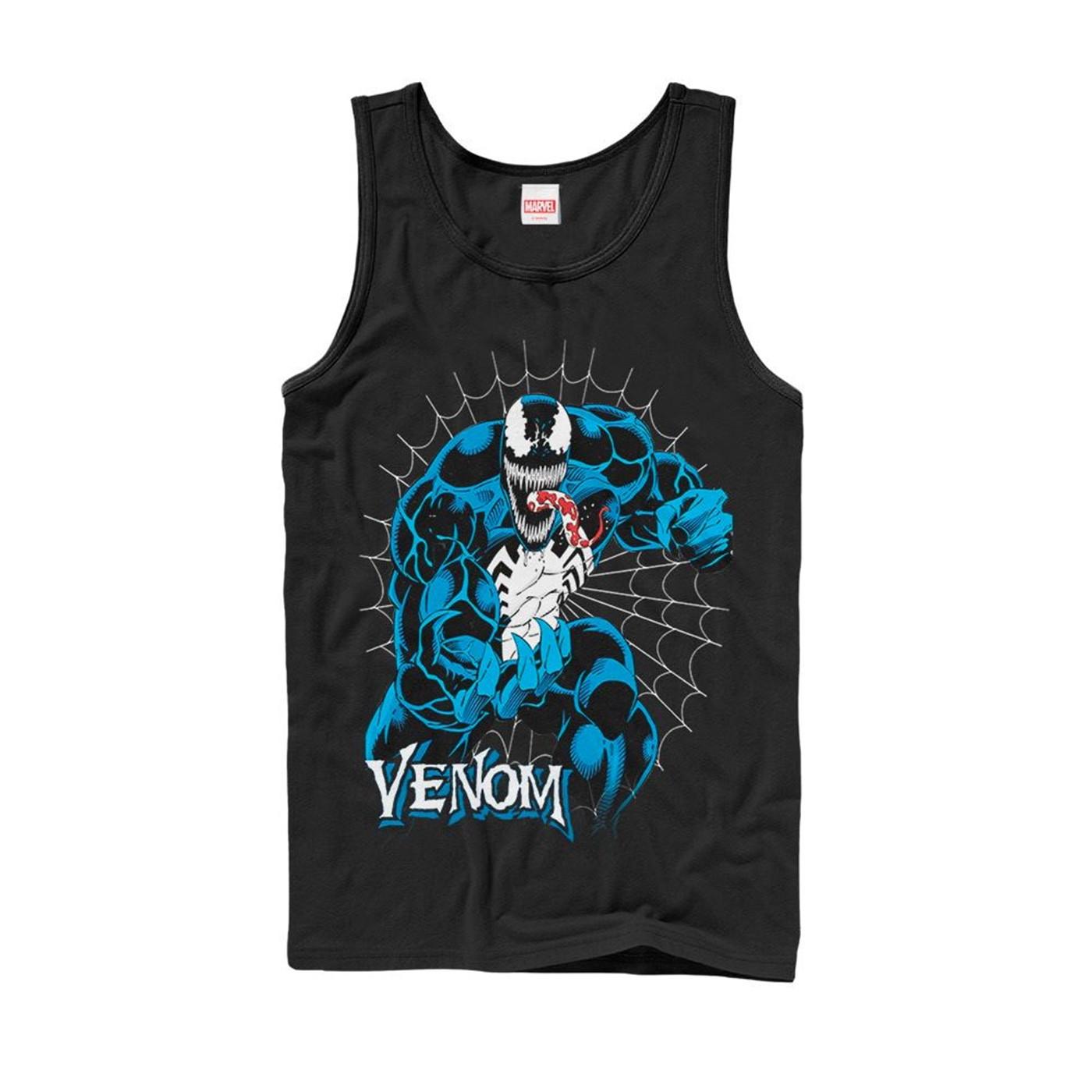 Marvel Venom Retro Web Tank Top