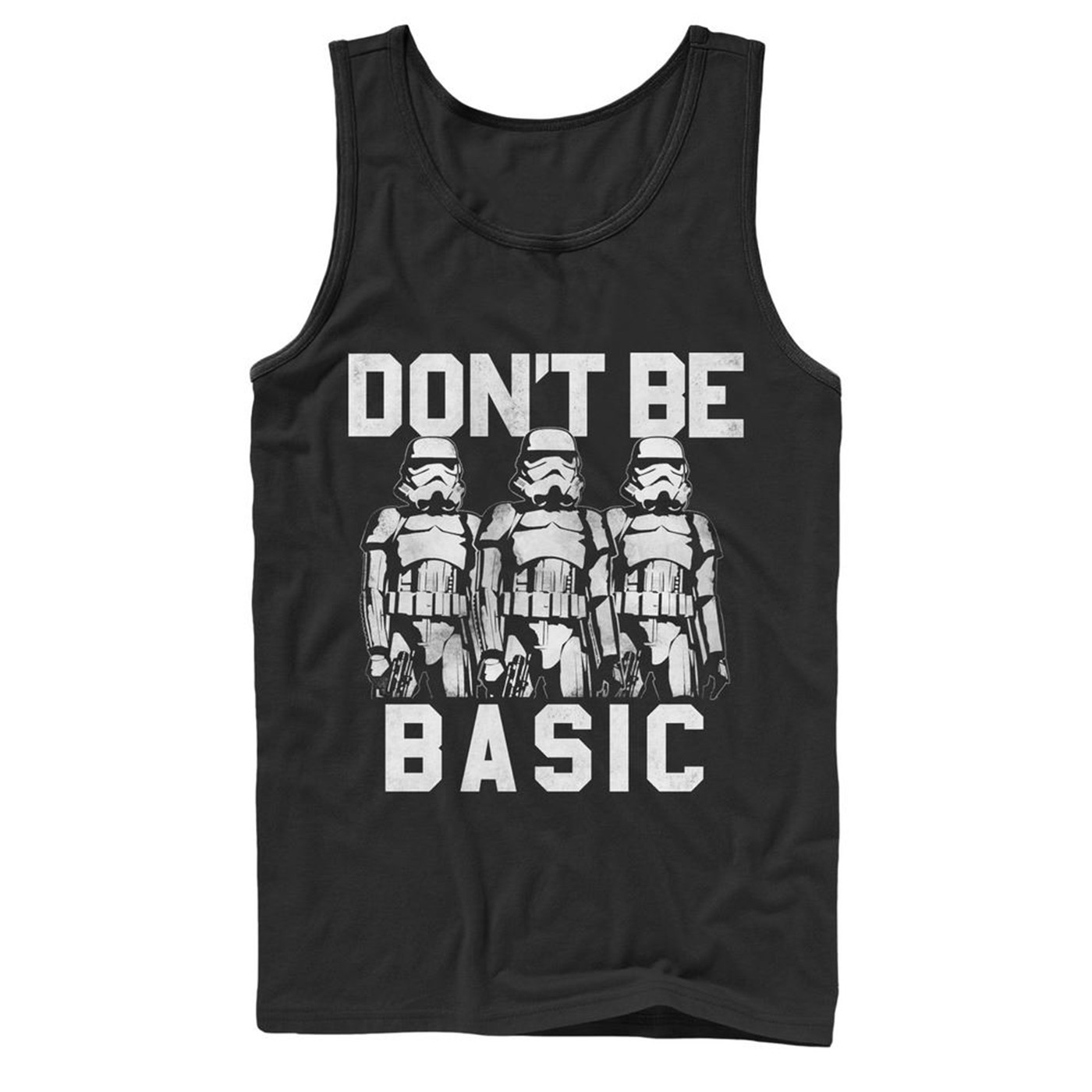 Don't Be Basic Stormtroopers Tank Top