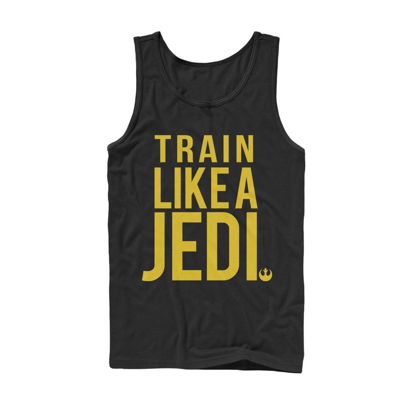 Star Wars Train Like a Jedi Tank Top