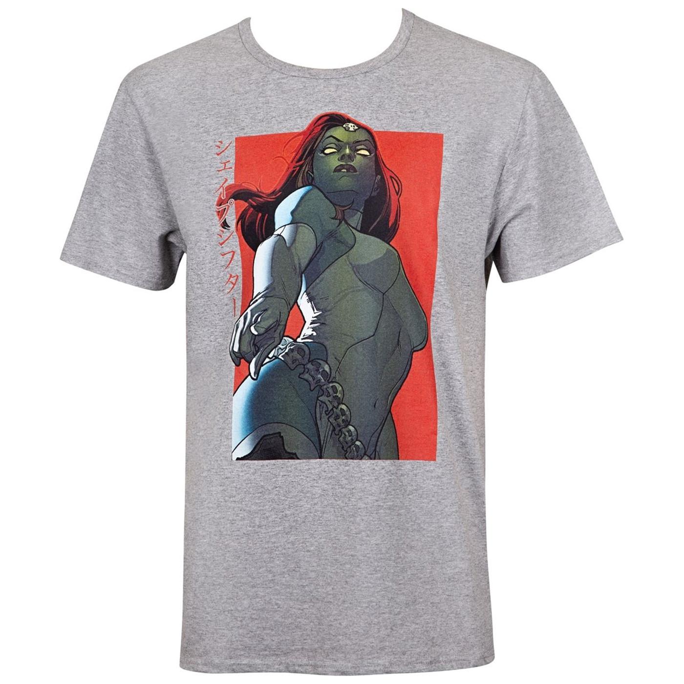 X-Men Mystique Kanji Men's T-Shirt