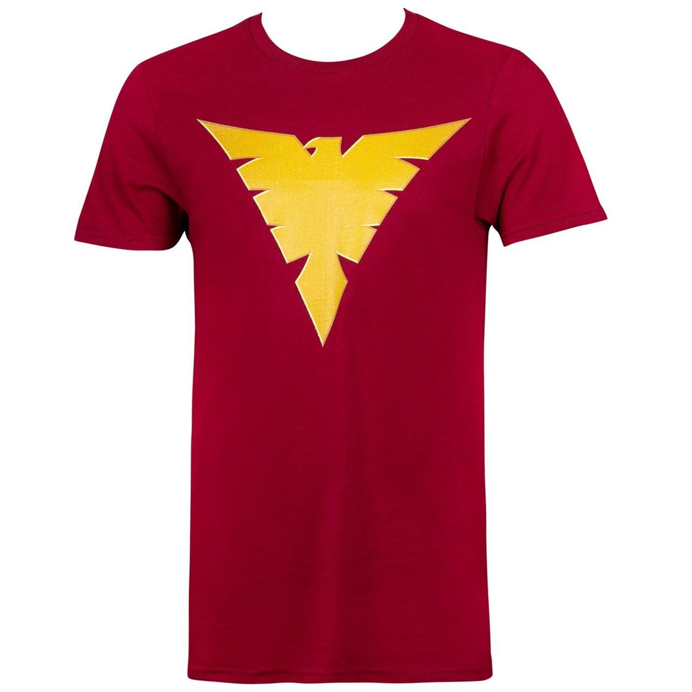 X-Men The Dark Phoenix Logo Men's T-Shirt