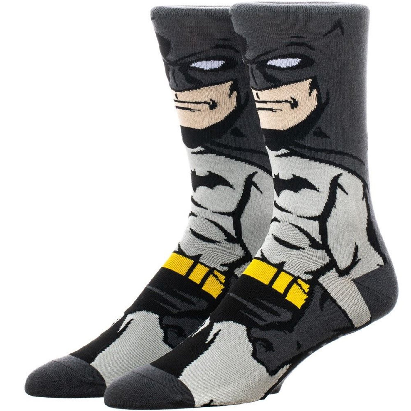 Batman Dark Knight 360 Character Crew Socks
