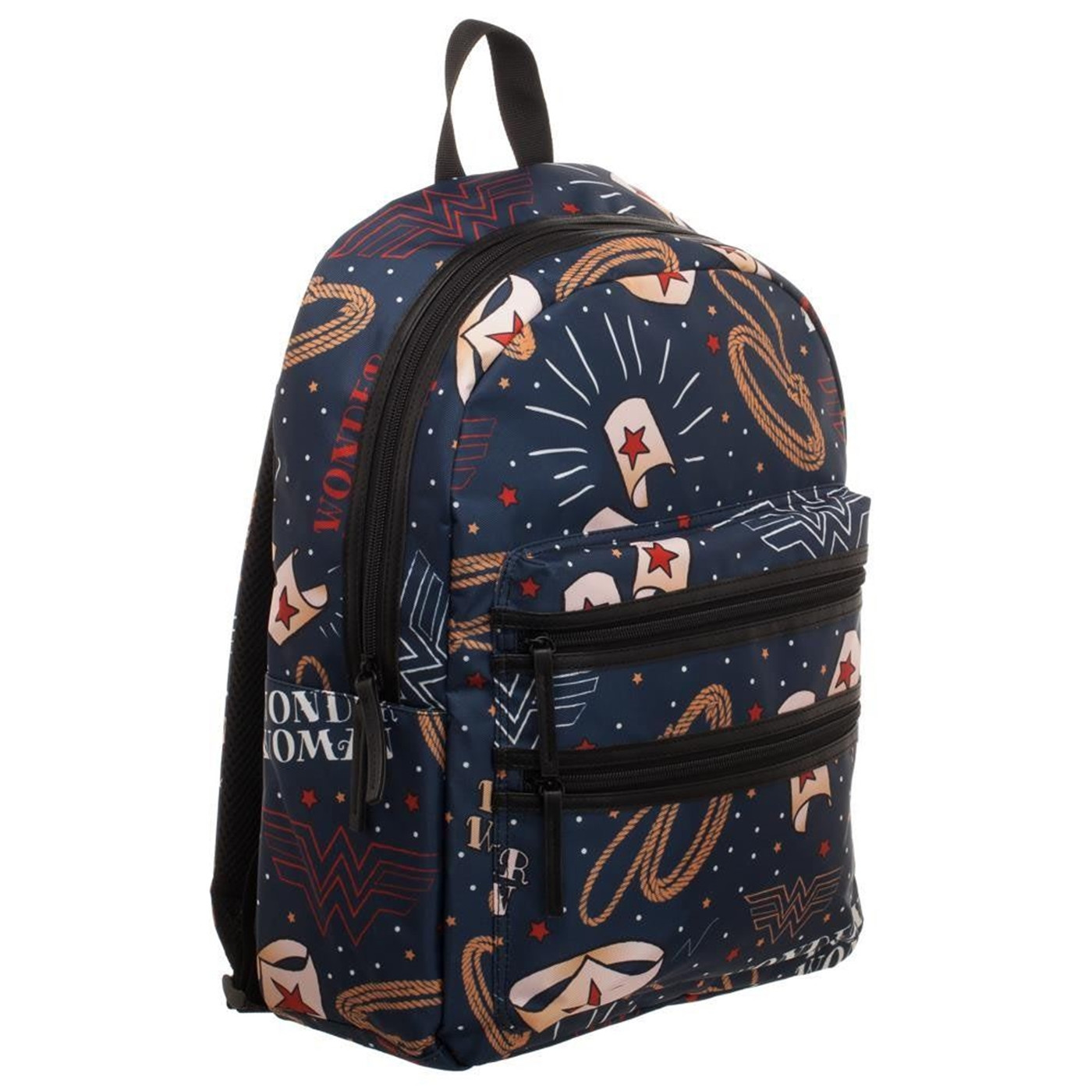 DC Comics Wonder Woman Double Zip Backpack