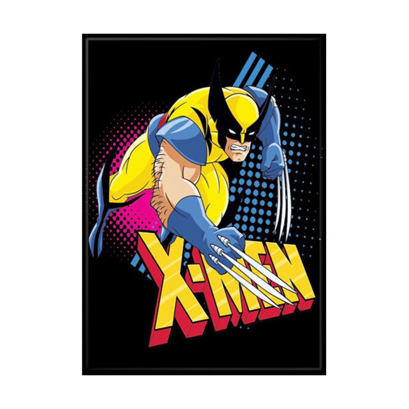 X-Men Cartoon Wolverine Magnet