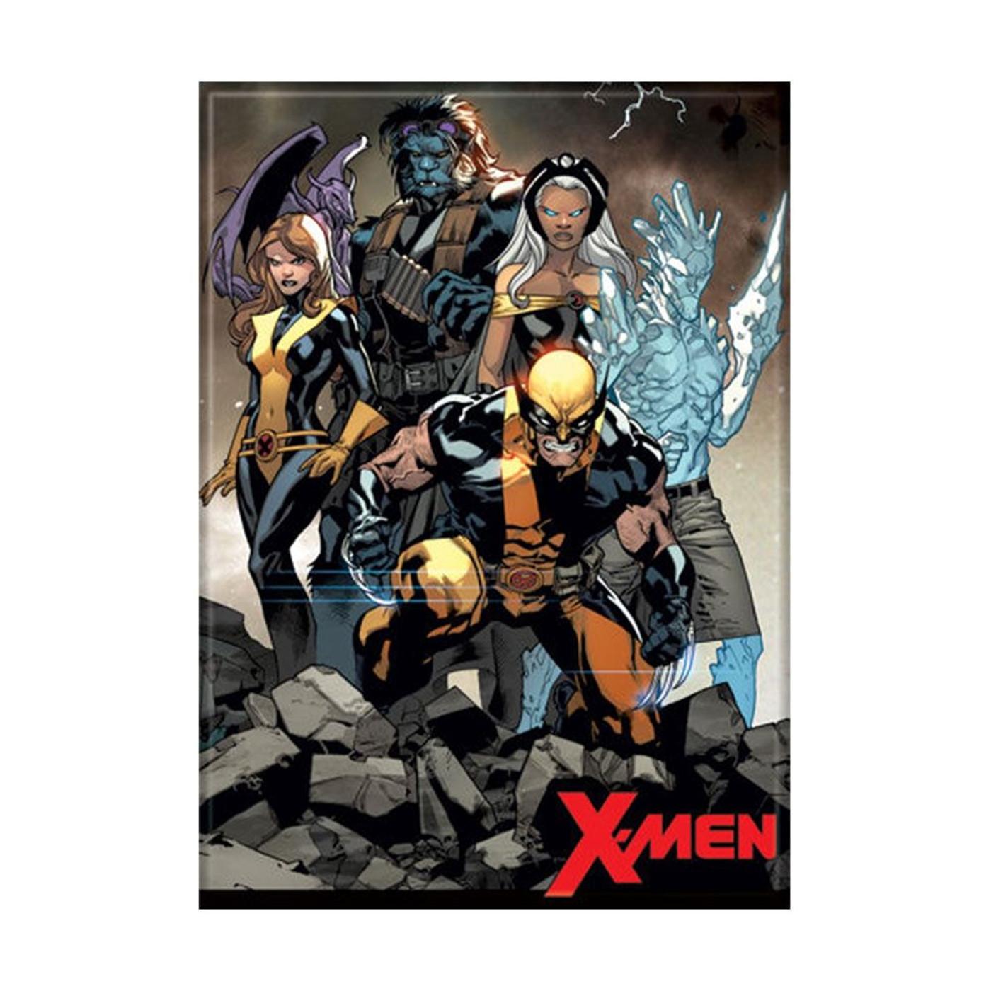 X-Men Line Up Magnet