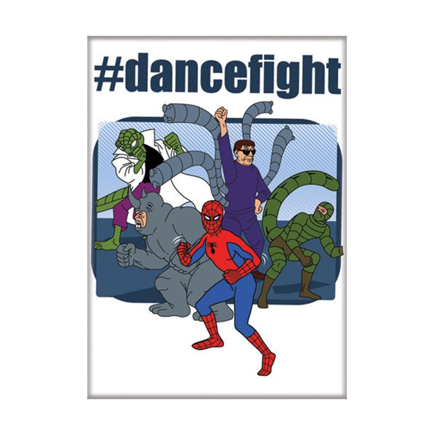 Cartoon Spider-Man Dance Fight Magnet