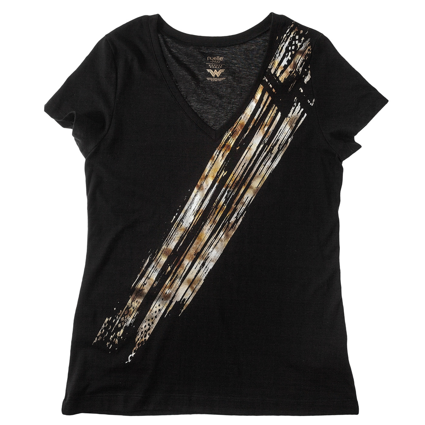 Wonder Woman Black Streak Women's T-Shirt