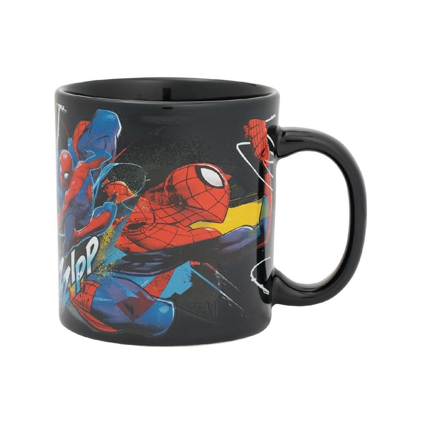 Marvel Spider-Man Web Slinging Time 20 oz. Ceramic Mug