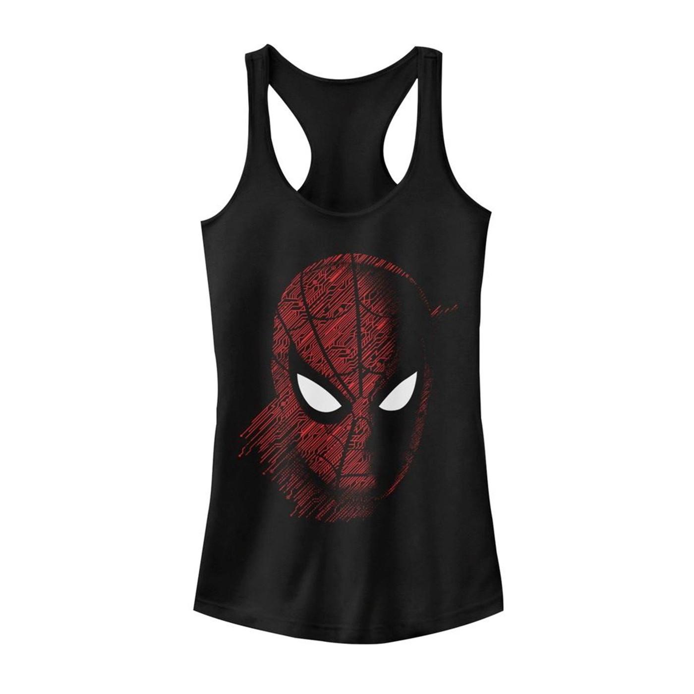Spider-Man: Far From Home Tech Pattern Women's Tank Top