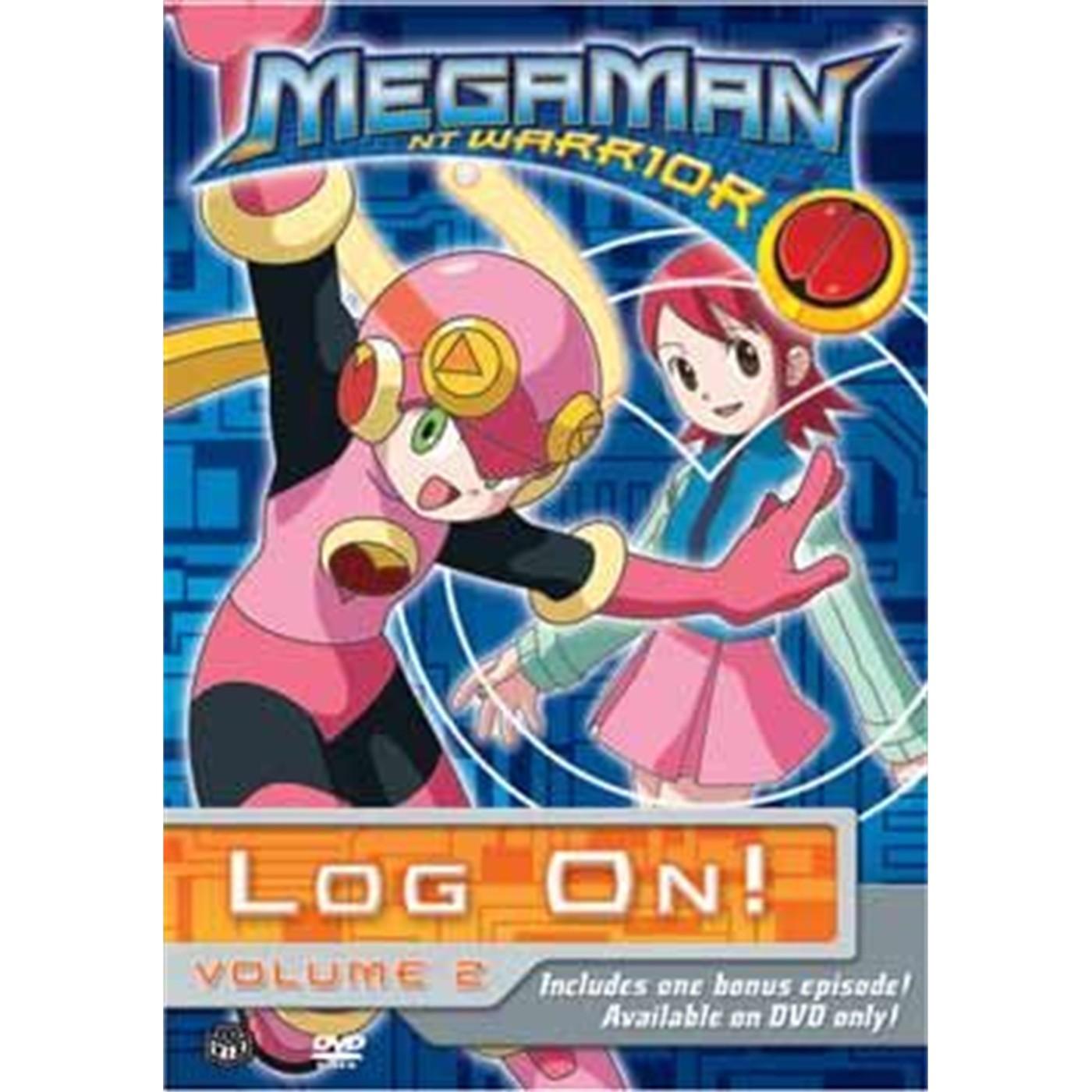 MEGAMAN NT WARRIOR, Vol. 2: Log On! (DVD)