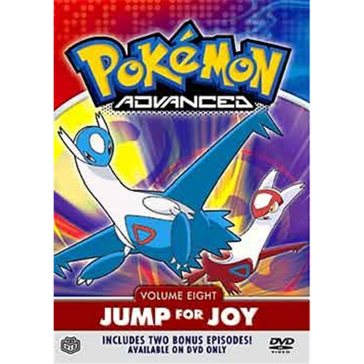 Pokemon Advanced, Vol. 8: Jump For Joy (DVD)