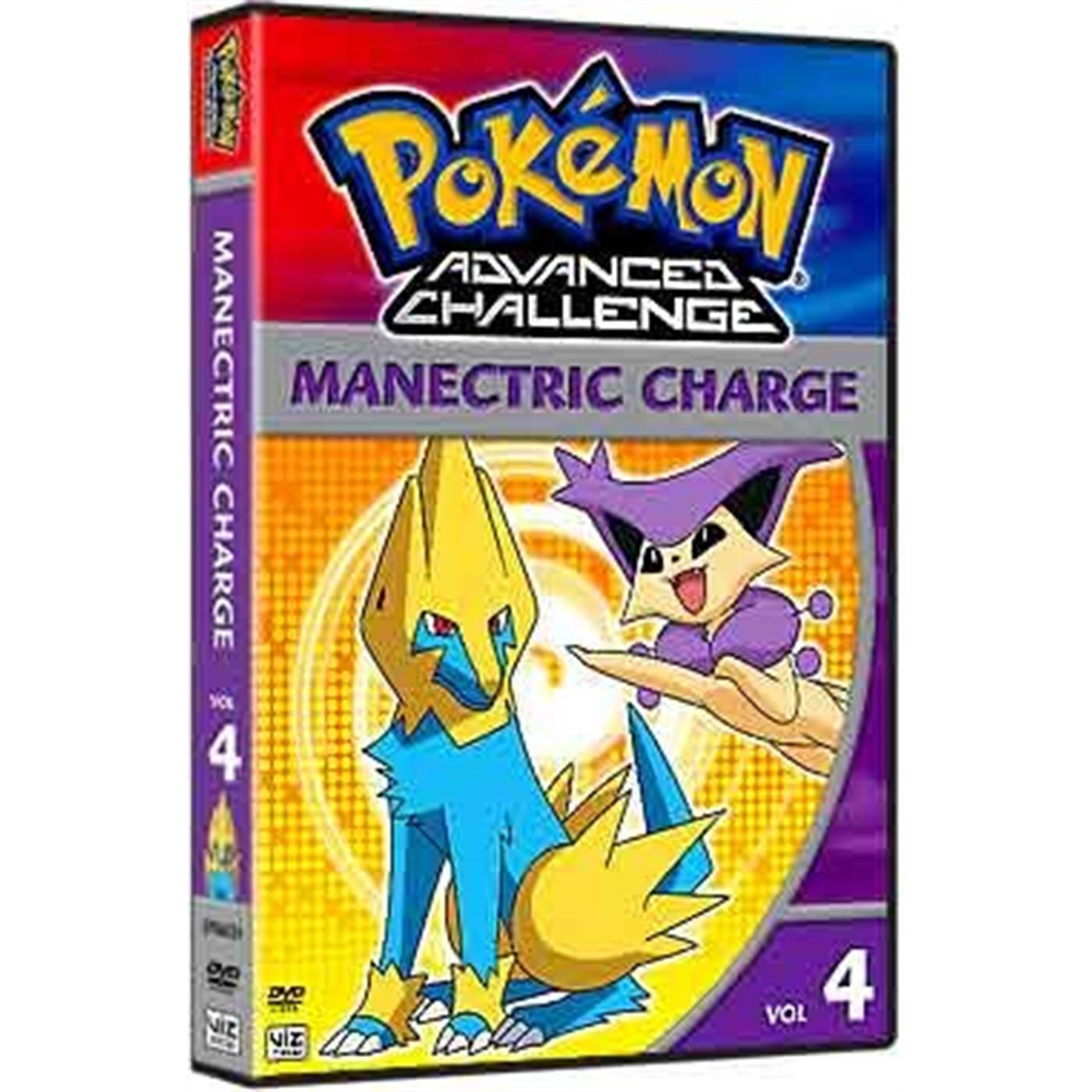 Pokemon Advanced Challenge, Vol. 4 (DVD)