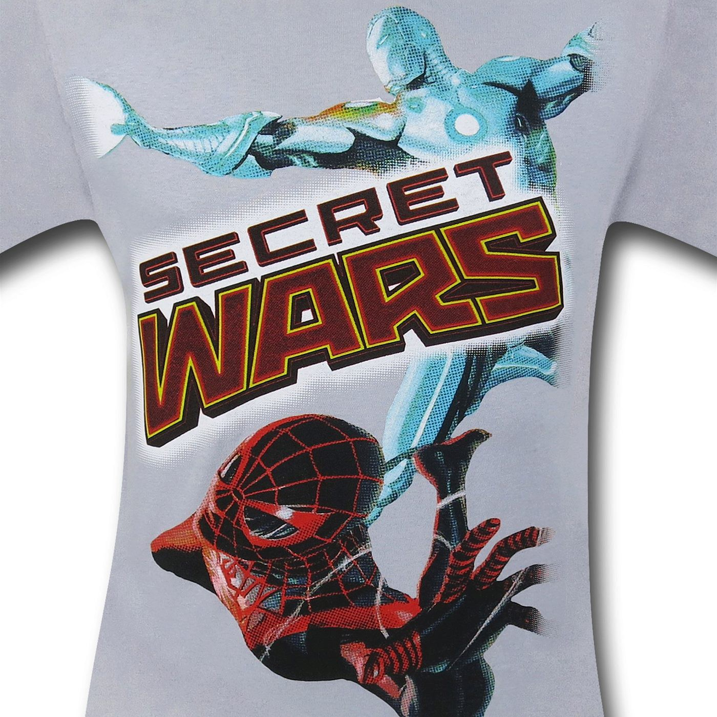 Marvel Secret Wars Silver T-Shirt