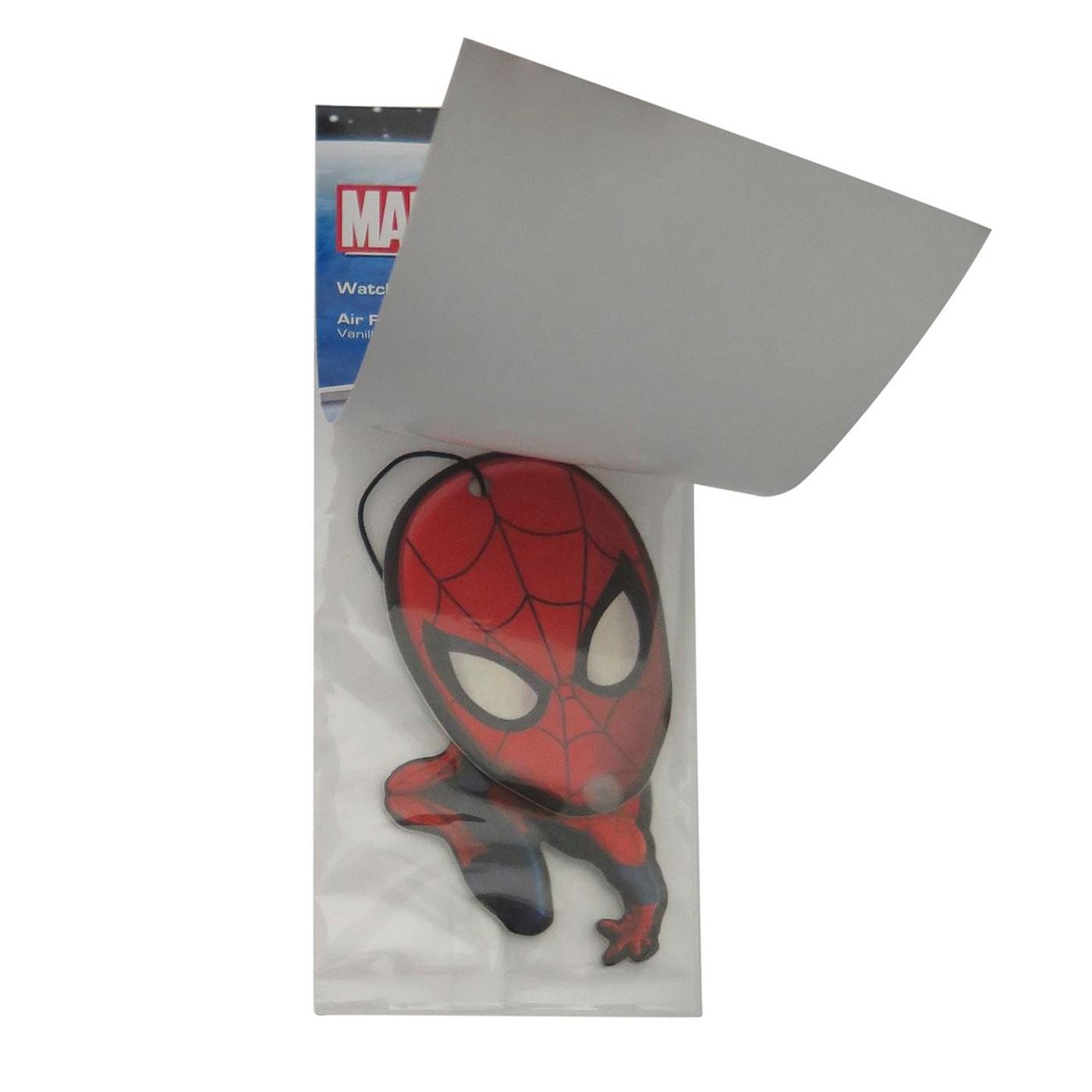Spiderman Wiggle Vanilla Air Freshener