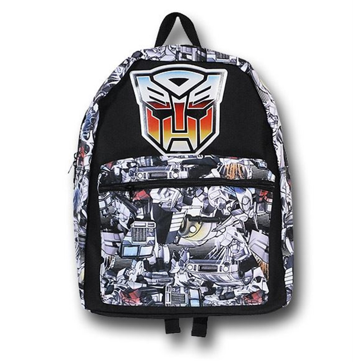 Transformers Autobot Collage and Symbol Backpack