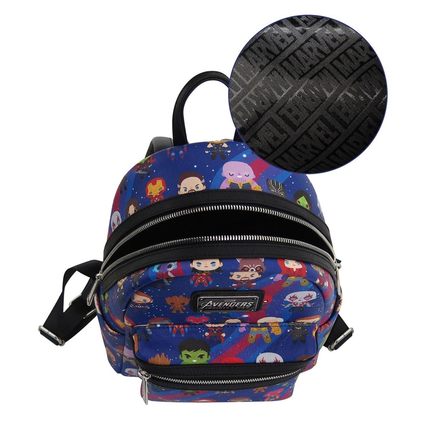 Avengers Infinity War Kawaii Loungefly Mini Backpack