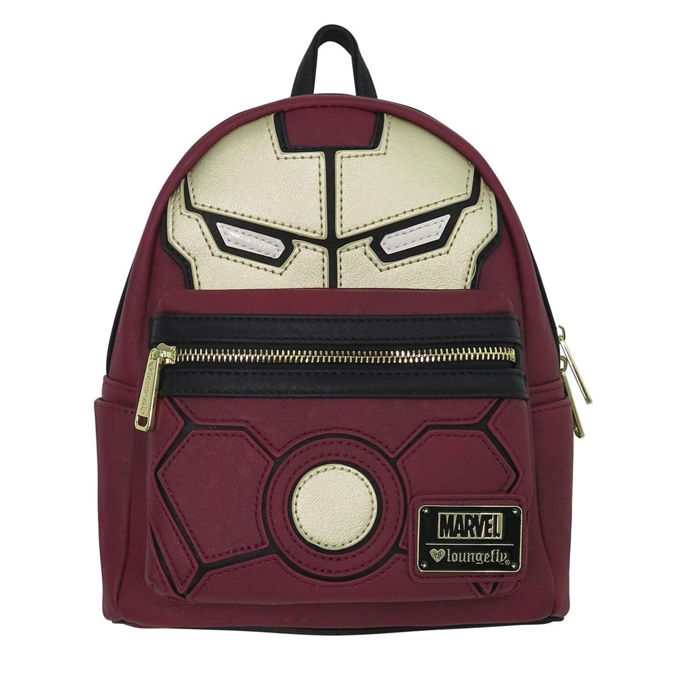 Avengers Infinity War Iron Man Loungefly Mini Backpack