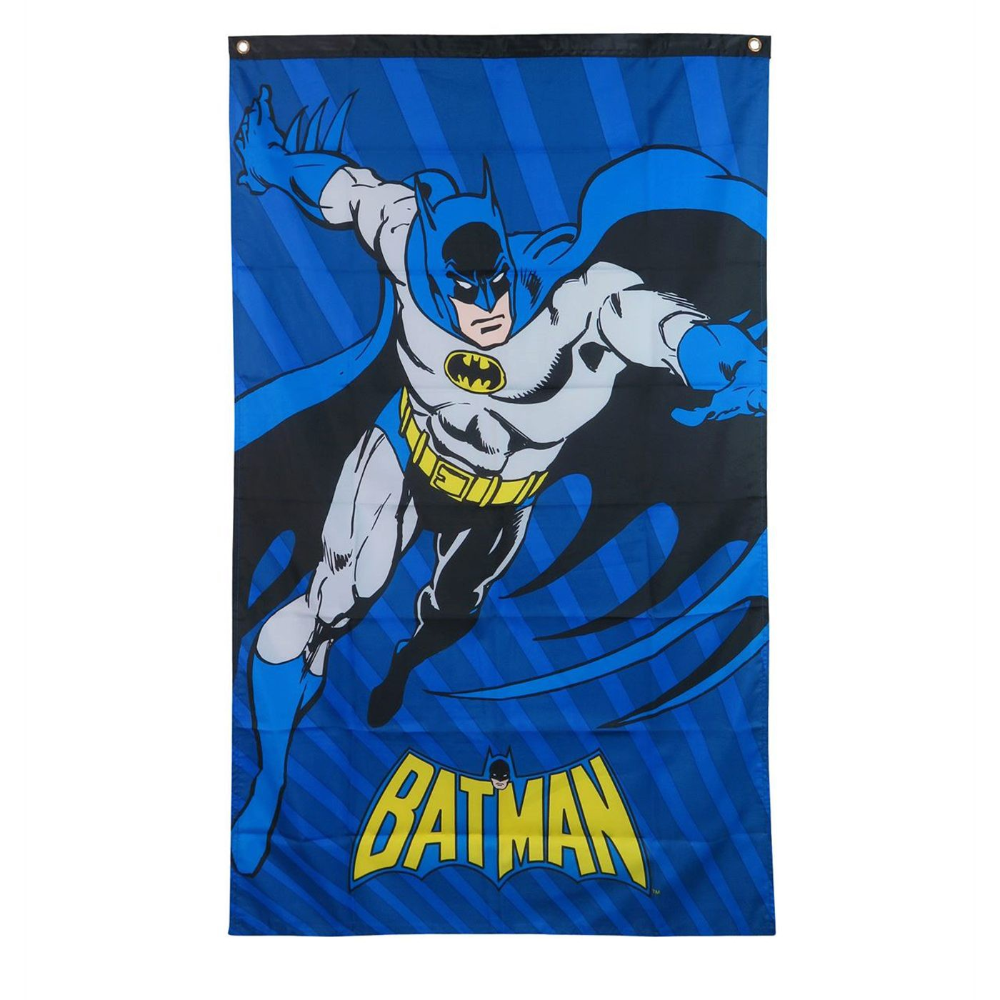 Batman Charging Fabric Banner