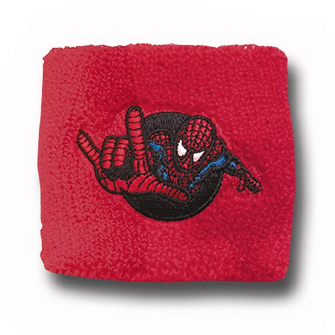 Spiderman Red Terrycloth Wristband
