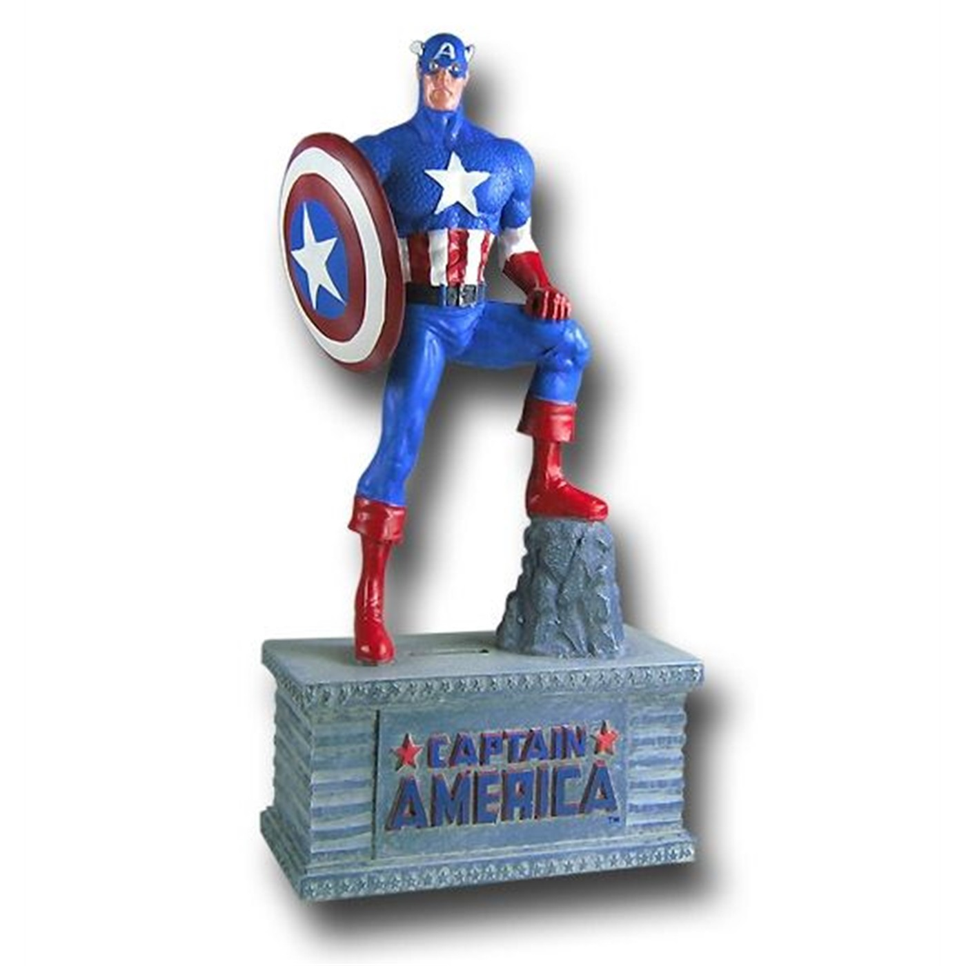 Captain America 10 Inch Figural  Bank