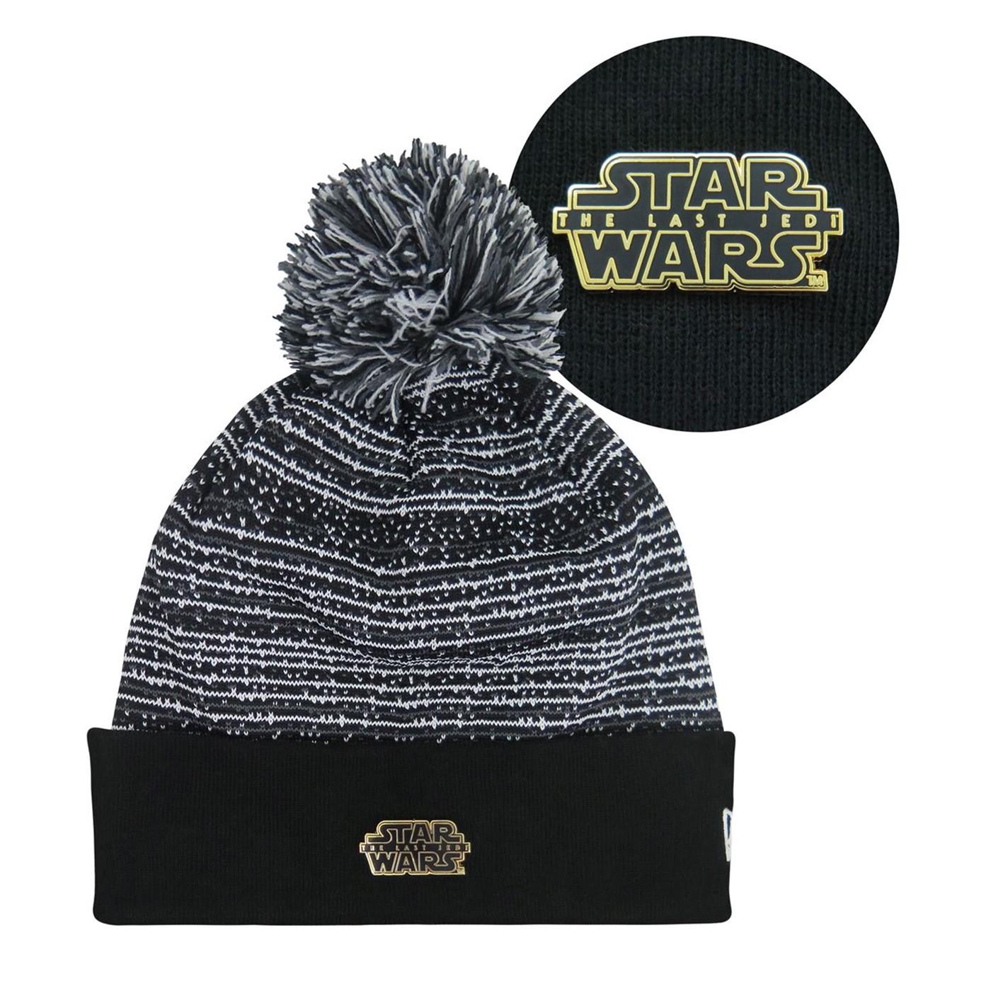 Stars Wars The Last Jedi Badge FBWY Beanie