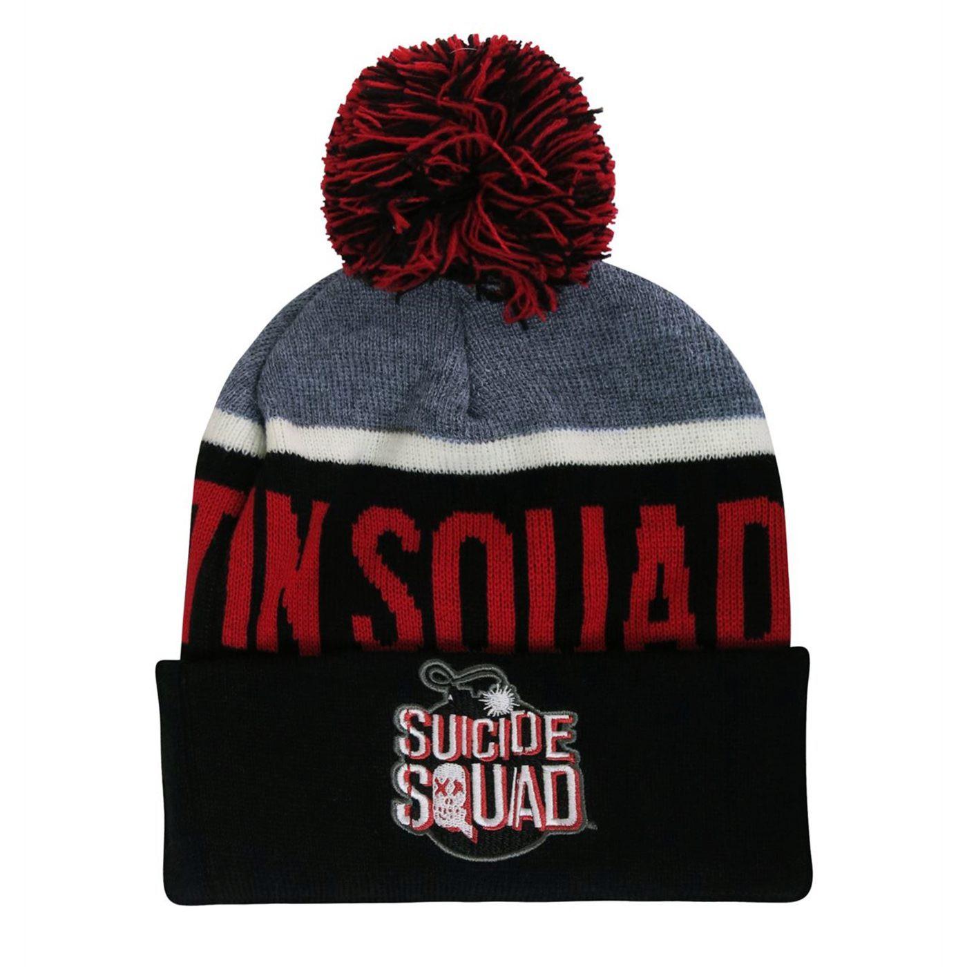 Suicide Squad Pom Pom Beanie