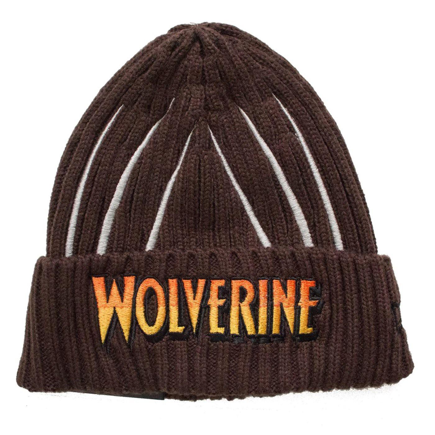 Wolverine Claws Unisex Knit Beanie