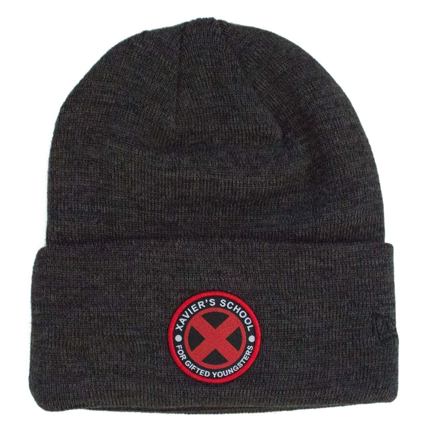 X-Men Xavier School Unisex Knit Beanie
