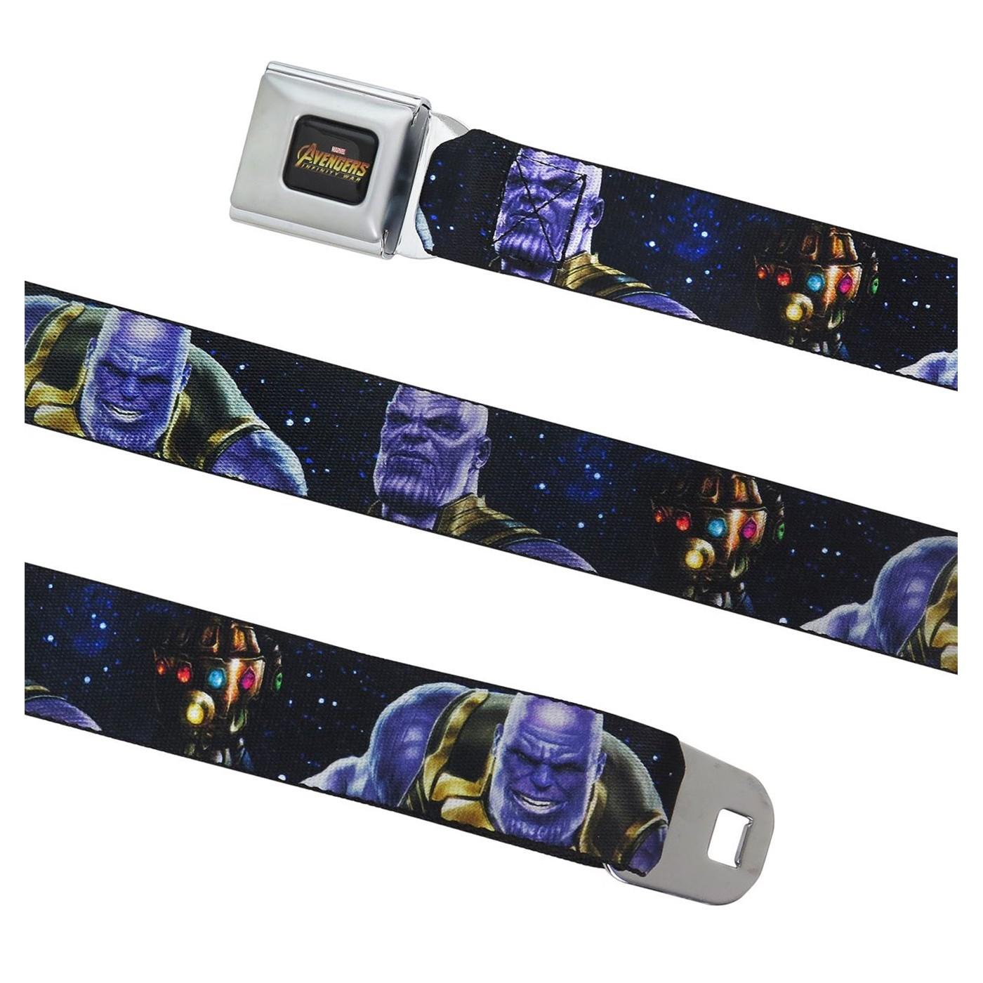 Avengers Infinity War Thanos Seatbelt Belt