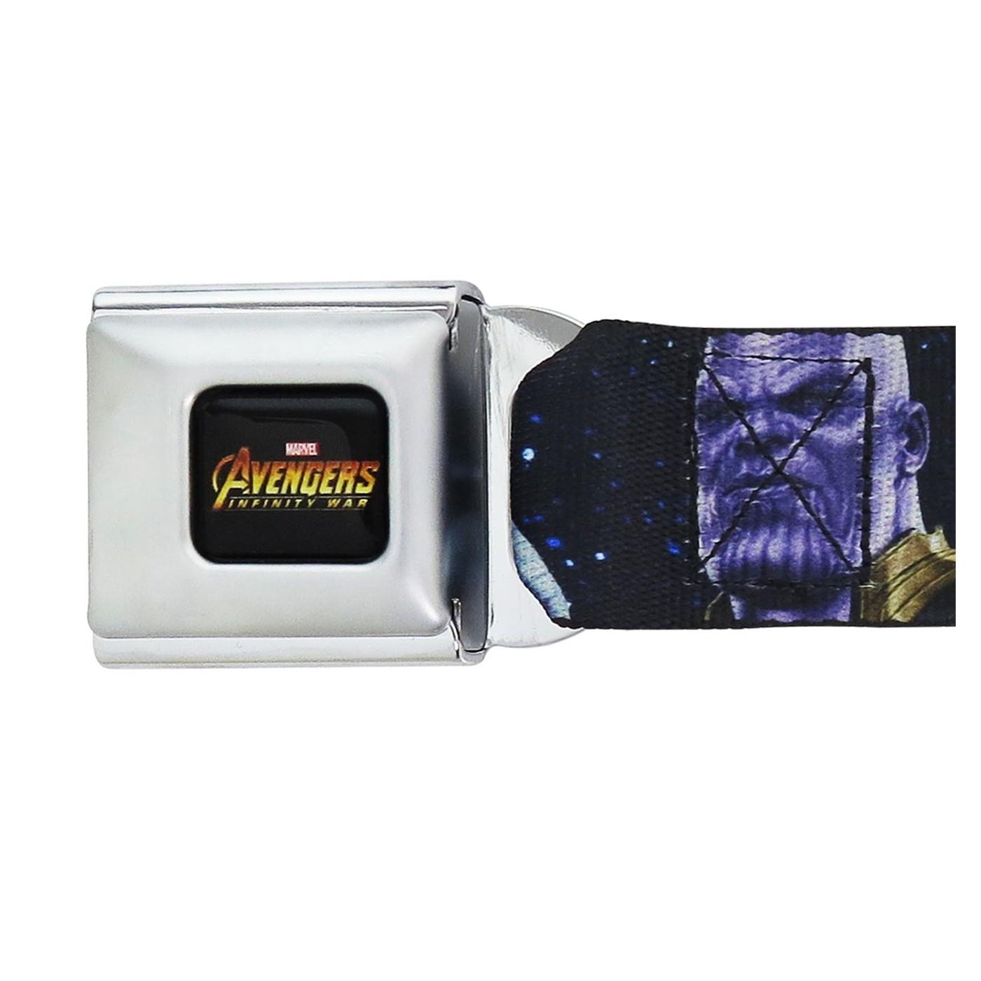 Avengers Infinity War Thanos Kids 1.0 Seatbelt Belt