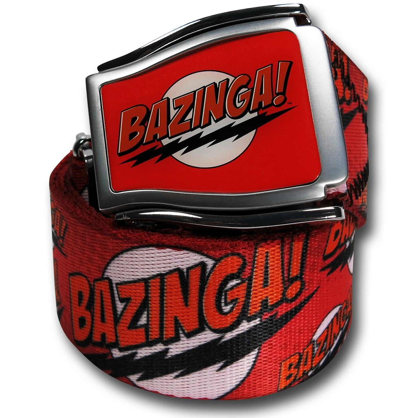 Big Bang Theory Bazinga Adjustable Belt