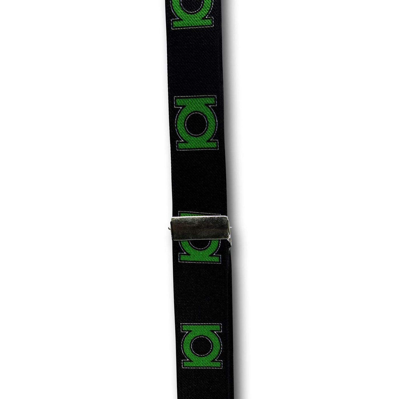 Green Lantern Symbols Suspenders