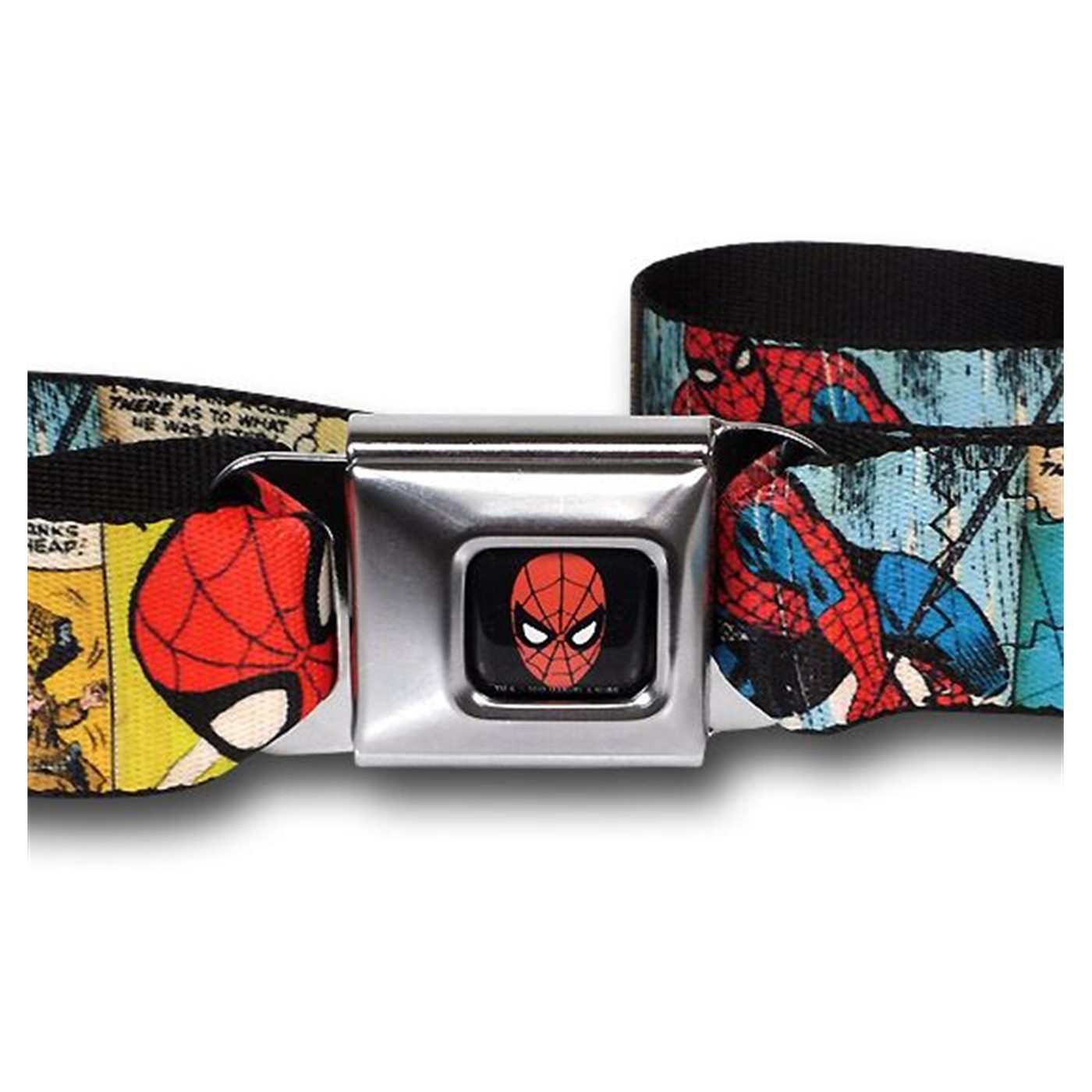 Spider-Man Comic Panels Seatbelt Belt