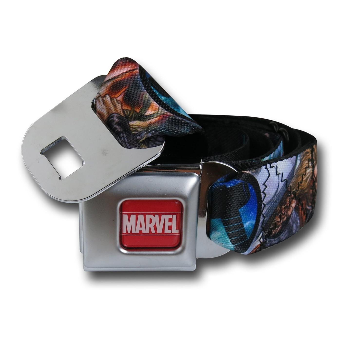 Thor Hammer Symbol Seatbelt Belt