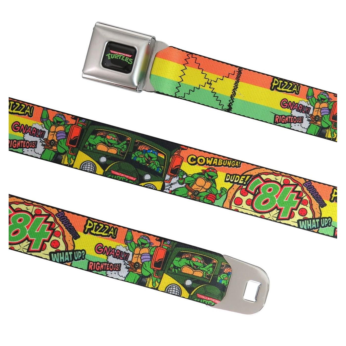 TMNT 84 Cowabunga Dude Seatbelt Belt