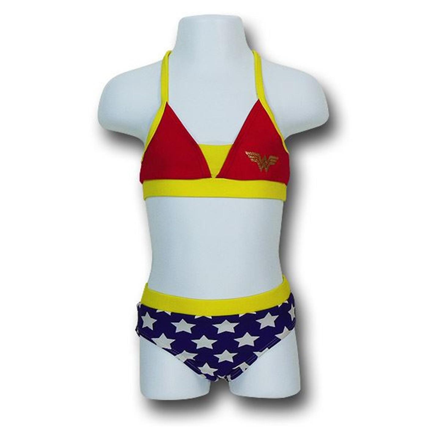 Wonder Woman Kids Bikini Set