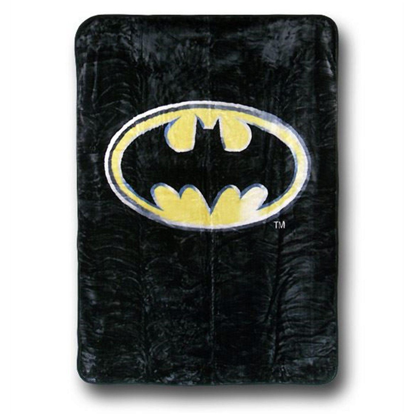 Batman Symbol Twin Blanket
