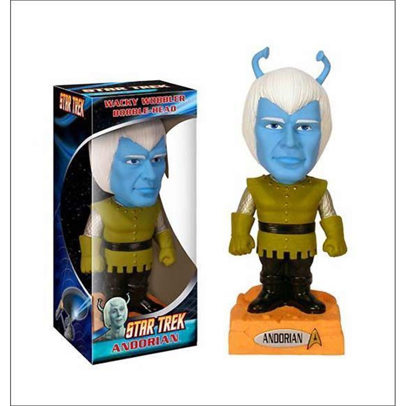 Star Trek Andorian Wacky Wobbler Bobble Head