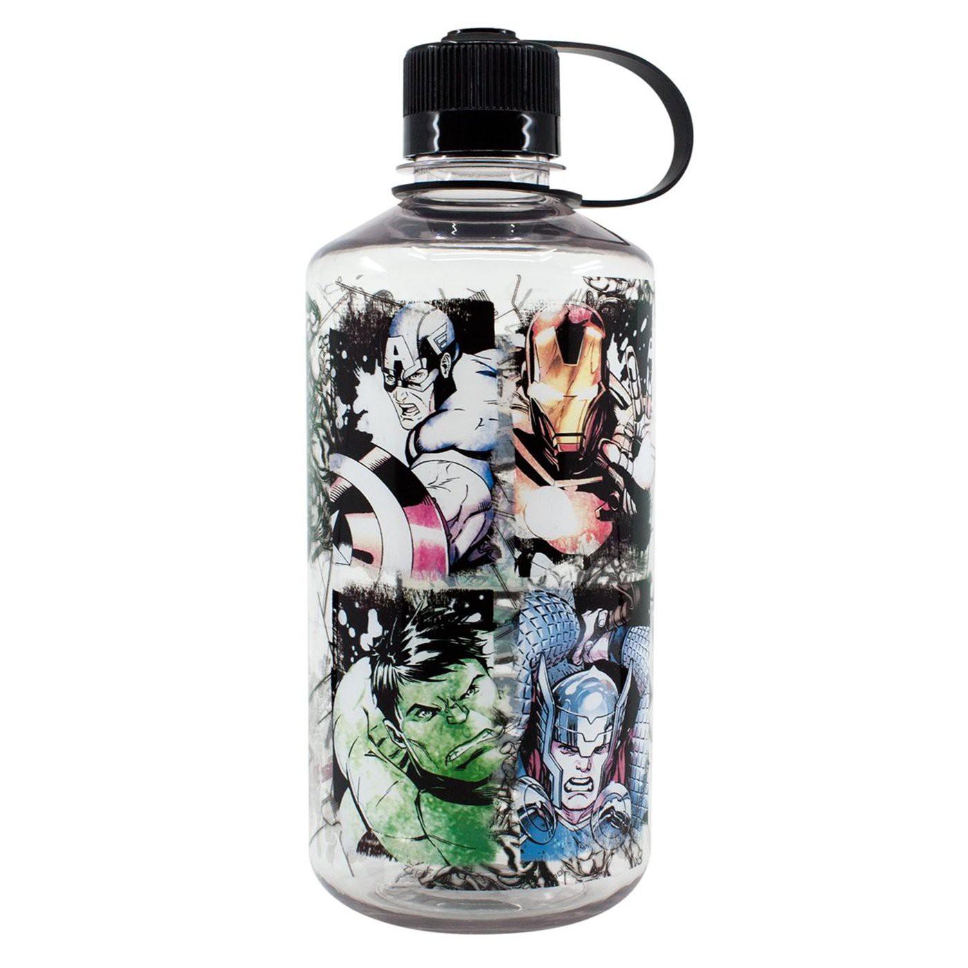 Marvel Avengers In Action 32oz Water Bottle