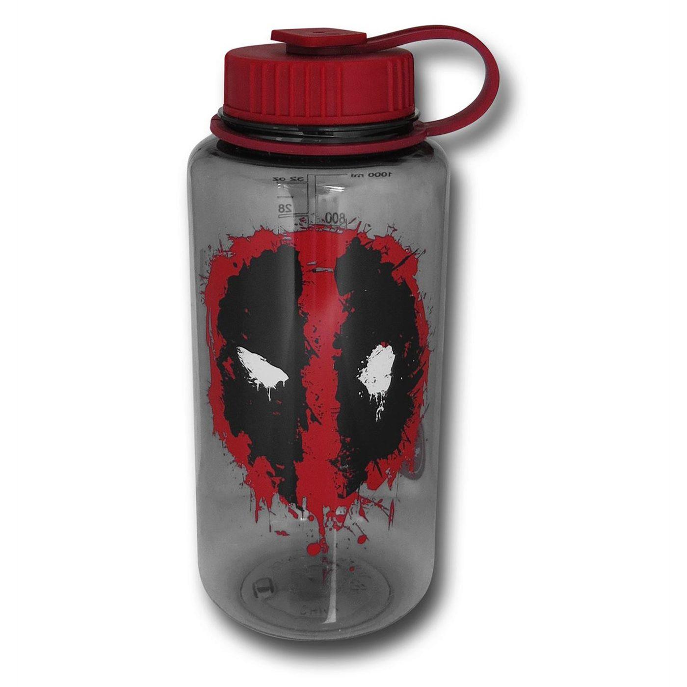 Deadpool Splat Tritan 32oz Water Bottle