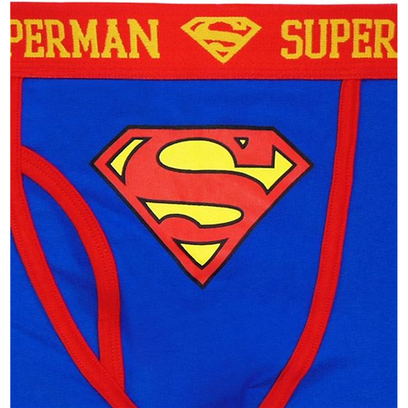 Superman Blue Caped Boxer Briefs