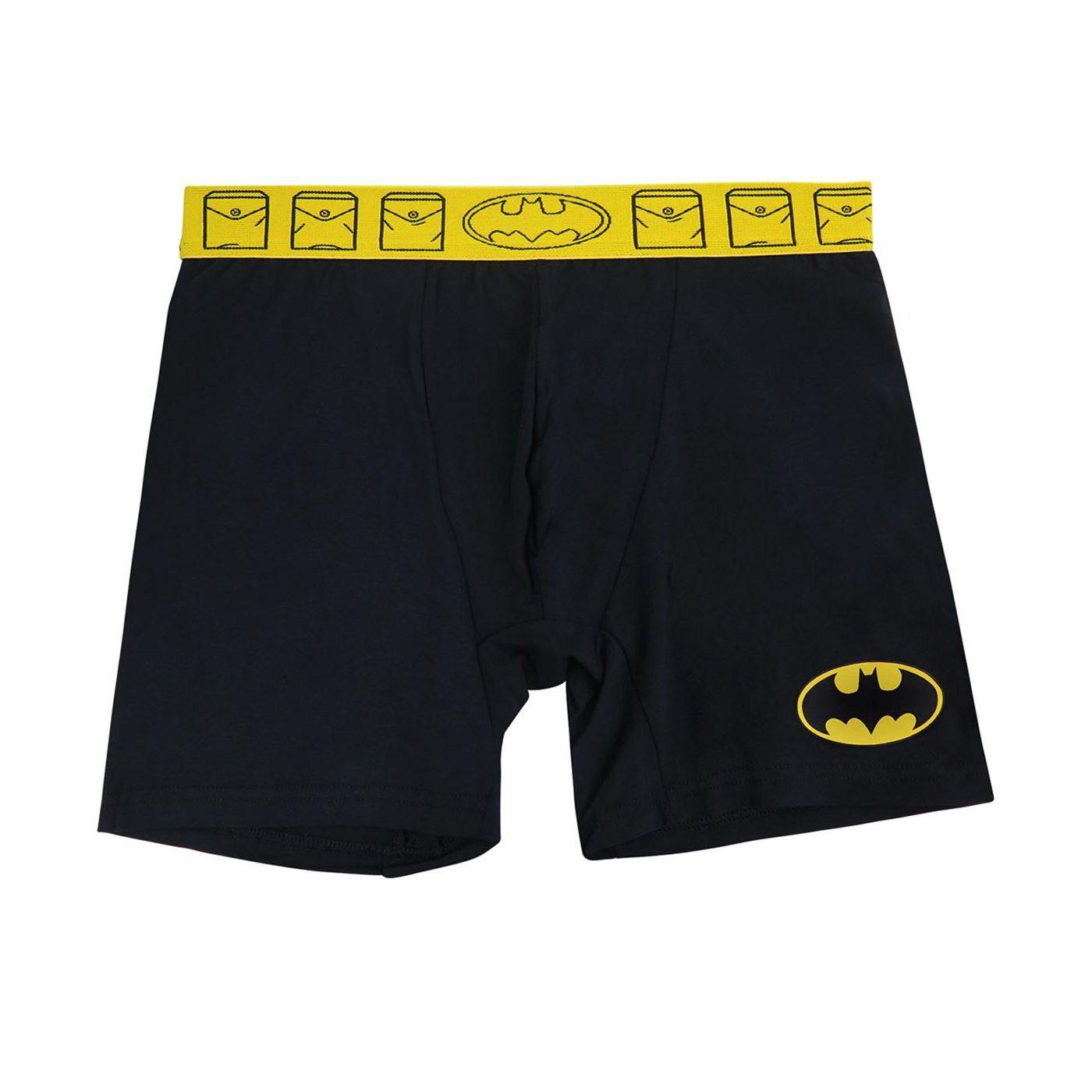 Batman Symbol Men's Underwear Fashion Boxer Briefs