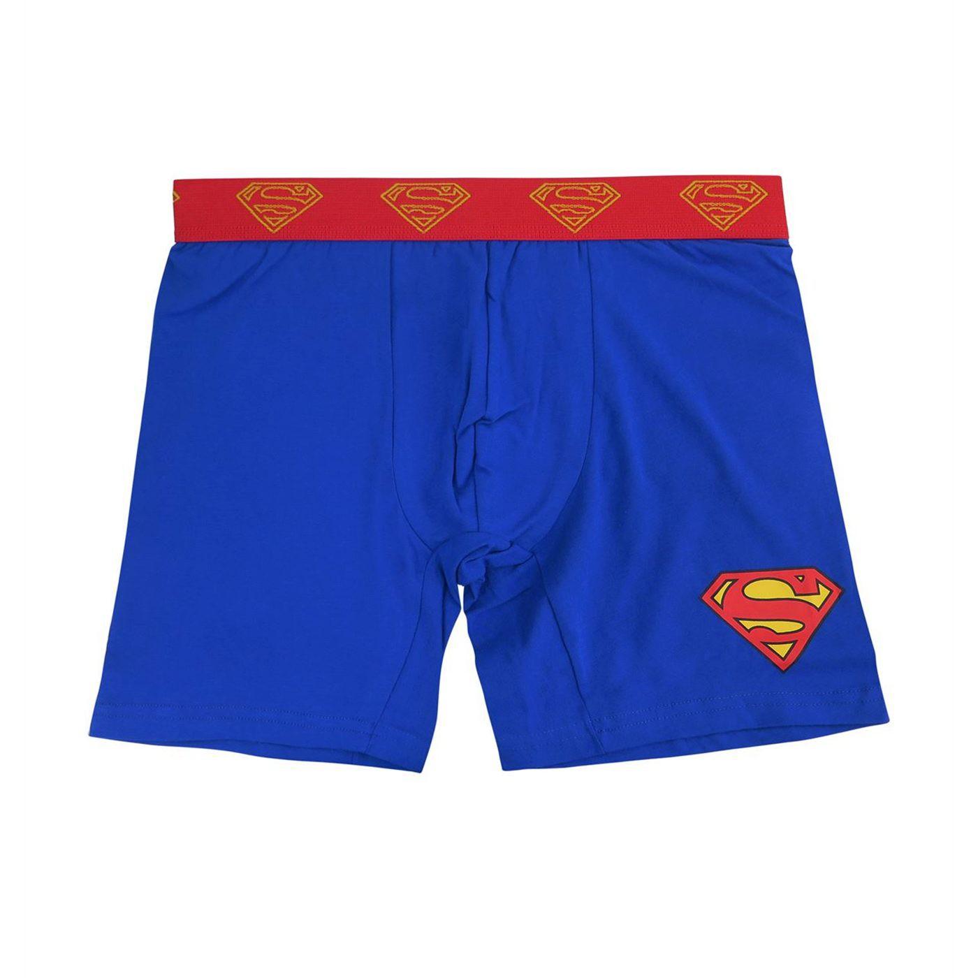 Superman Symbol Men's Underwear Fashion Boxer Briefs