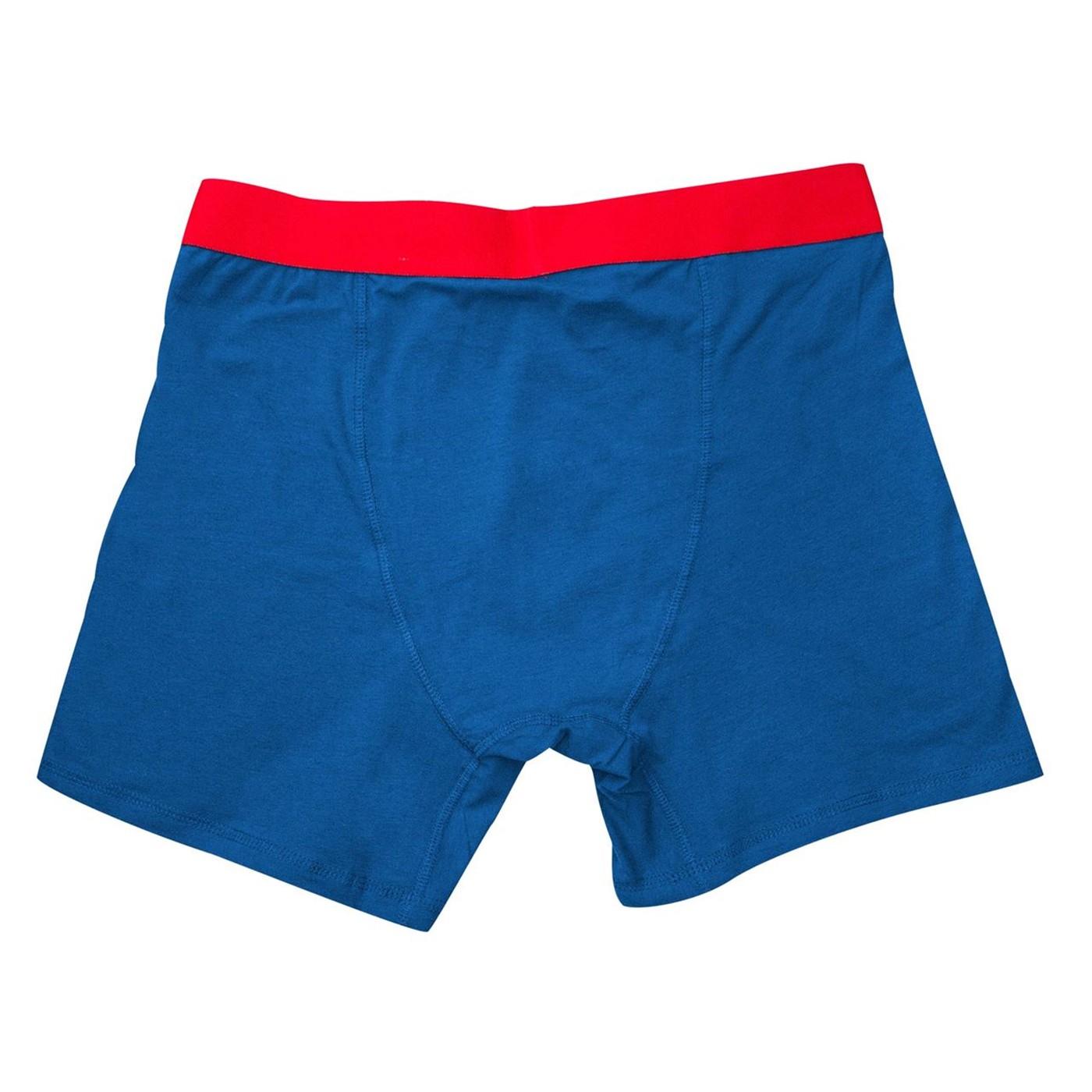 Superman Classic Men's Underwear Boxer Briefs