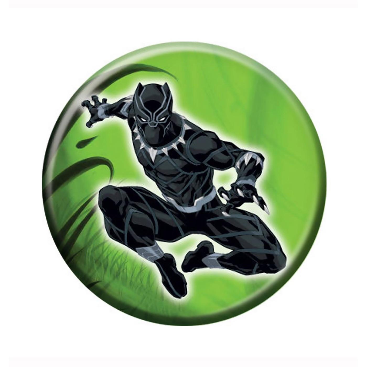 Black Panther Jungle Leap Button