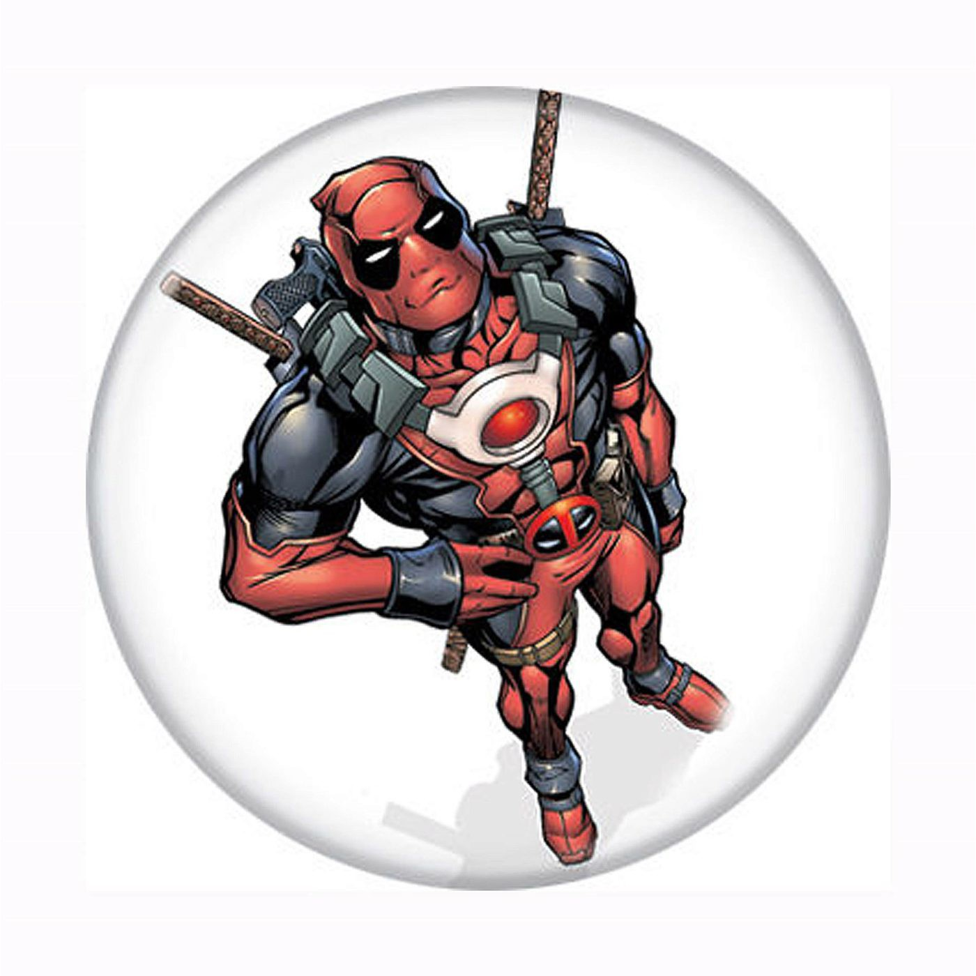 Deadpool From Above Button