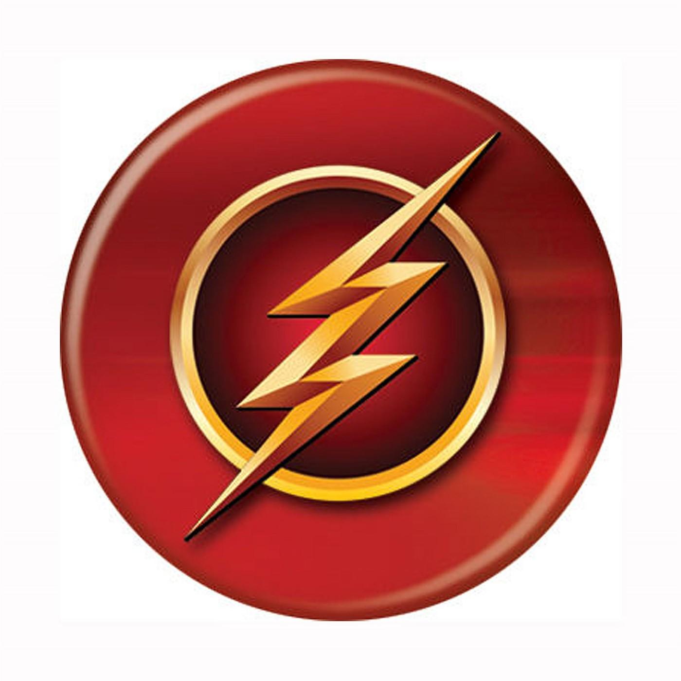 Flash TV Series Symbol Button